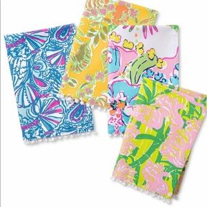Brand New Lilly Pulitzer for Target 4pc Napkin Set